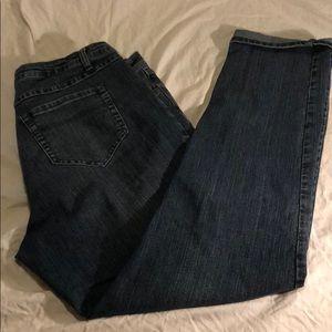ASHLEY STEWART SIZE 12W JEANS PANTS
